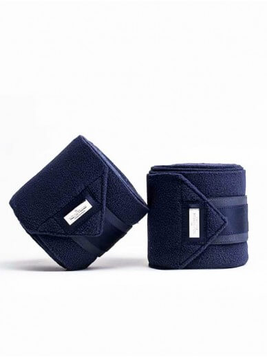 Equestrian Stockholm - Bandes polaire navy silver