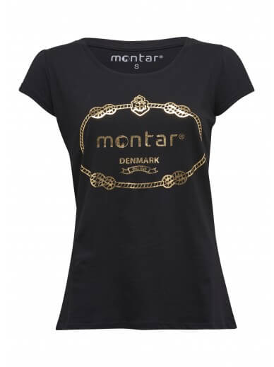 Montar- Tee-shirt Victoria gold - 4 coloris
