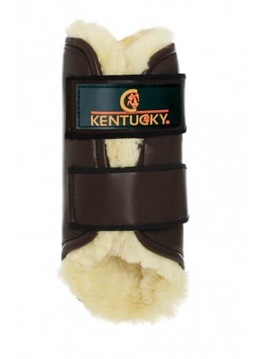 Kentucky - guêtres turnout cuir choco