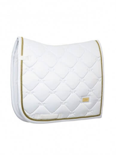 Equestrian Stockholm - Tapis White perfection gold