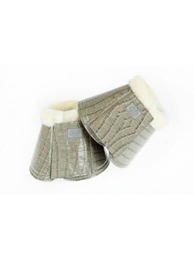 Ps of Sweden - Cloches gris croco verni