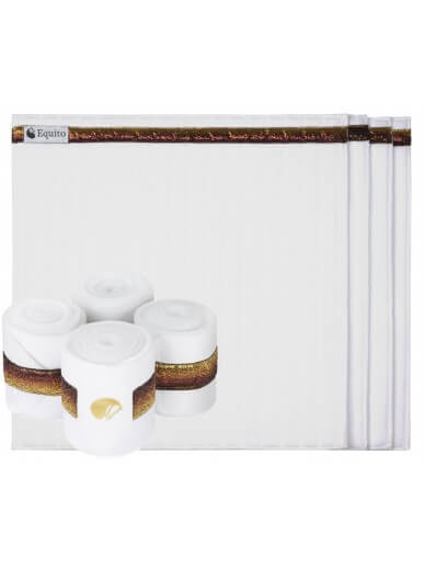 equito -sous bandes white gold
