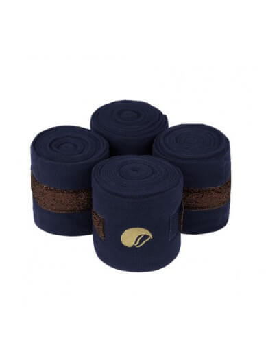 equito - bandes navy bronze