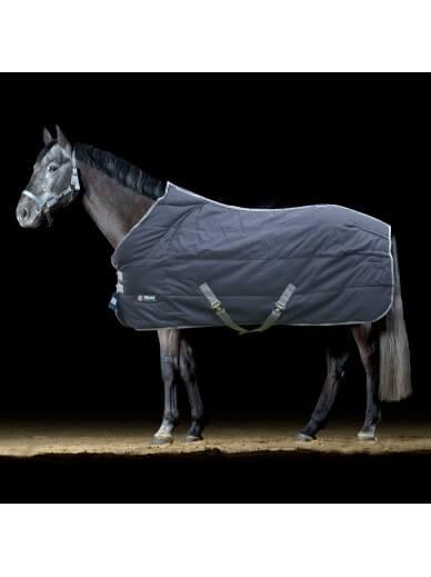 Trust Equestrian - couverture tetris d'ecurie medium anthracite