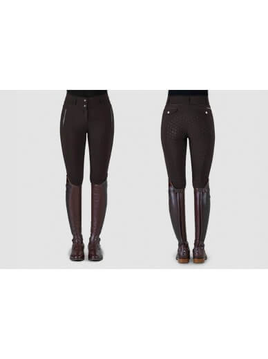 Ps of Sweden - Pantalon Elsa marron