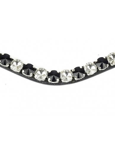 Ps of Sweden - Frontal bold onyx avec clips