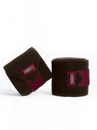 Equestrian Stockholm - Bandes polaire deep brown bordeaux