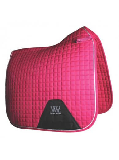 WoofWear - Tapis fusion dressage framboise