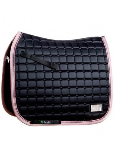 equito - tapis black pink