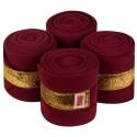 equito - bandes burgundy gold
