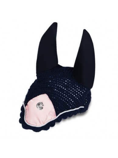 equito - bonnet navy pink