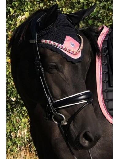equito - bonnet black pink