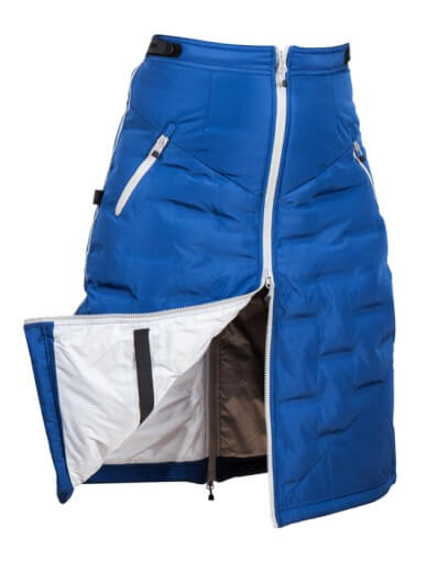 UhipAH18 - Jupe ice royal blue