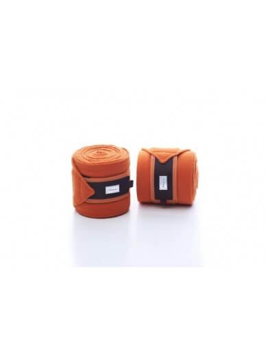 RiderByHorse- bandes polaire platinum pumpkin orange
