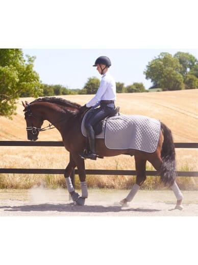 RiderByHorse - couvre reins steeple grey