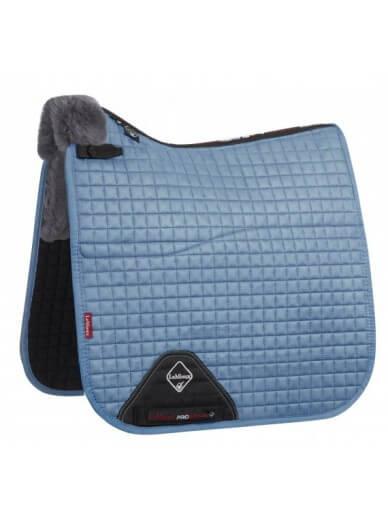 LeMieux - Tapis doublé en laine - ice blue/gris