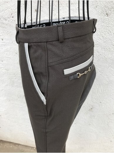 Montar- culotte grey shiny