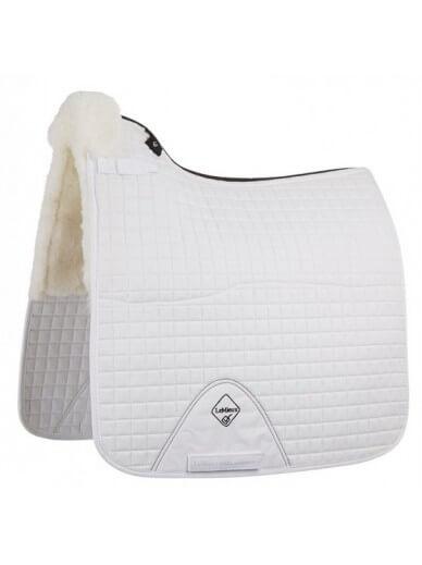 LeMieux - Tapis doublé en laine - blanc / blanc