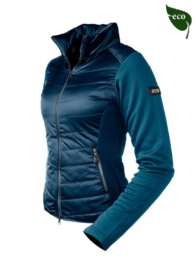 Equestrian Stockholm - veste active performance moroccan blue