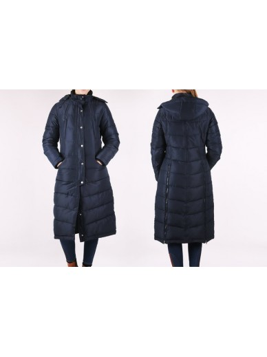 Ps of Sweden - manteau long Victoria marine