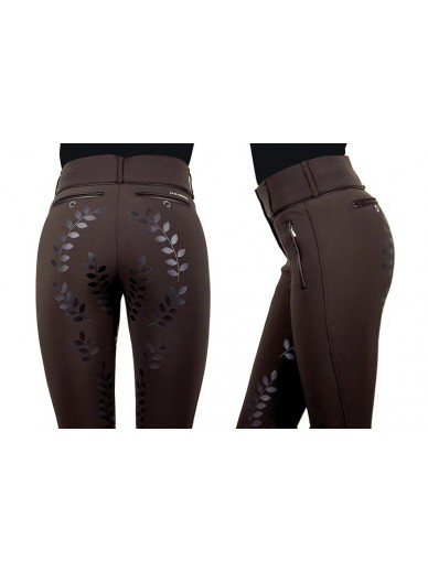 Ps of Sweden - Pantalon robyn marron