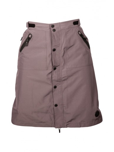 Uhip - trench skirt grey