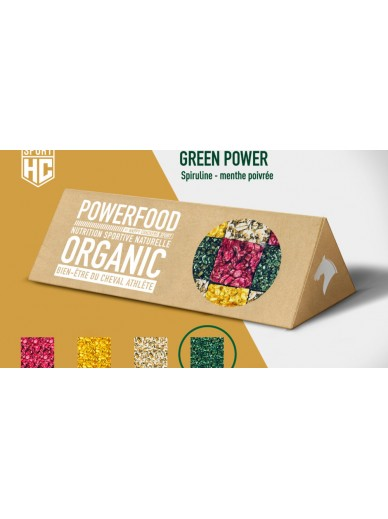 Happy crackers - green power superfood