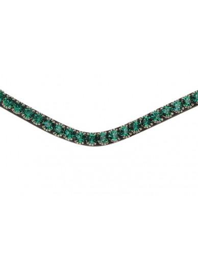 Ps of Sweden - Frontal sleek emerald avec clips