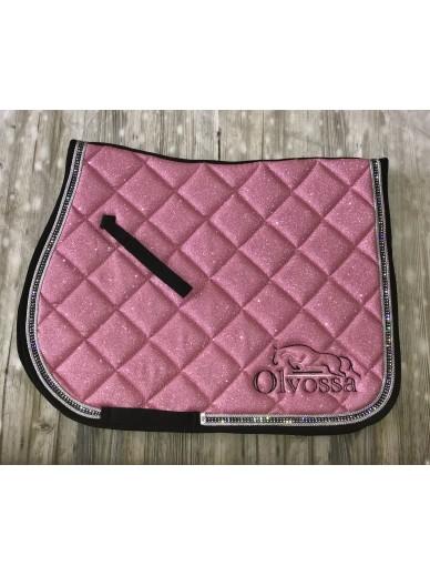 Olvossa - tapis dressage crystal pink