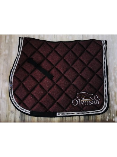 Olvossa - tapis dressage crystal cherry
