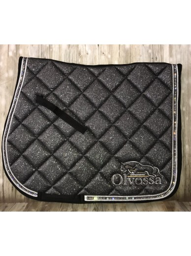 Olvossa - tapis dressage crystal grey