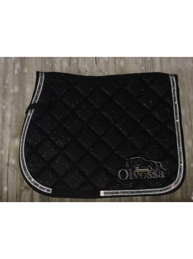 Olvossa - tapis dressage crystal black