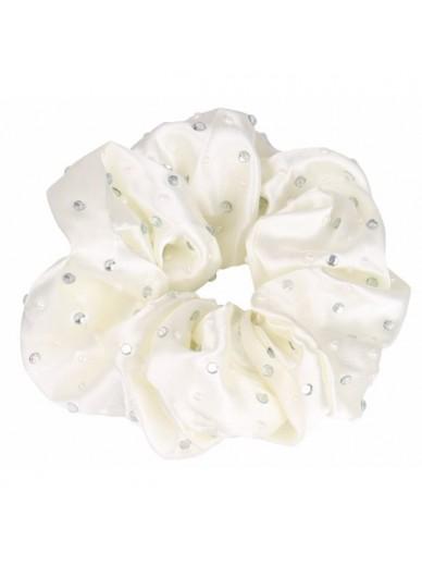 SD Design- élastique diamond/pearl scrunchie - 4 coloris