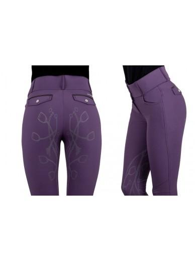Ps of Sweden - Pantalon zoe grape