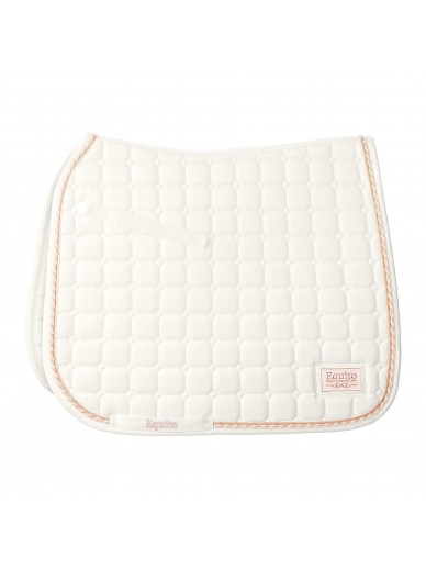 equito - tapis off white rose gold