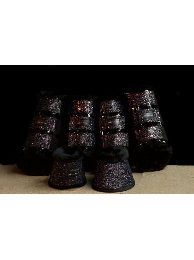Amare - set boots black opium
