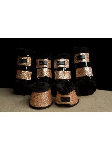 Amare - set boots peach