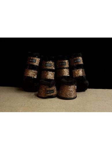 Amare - set boots bronze gold
