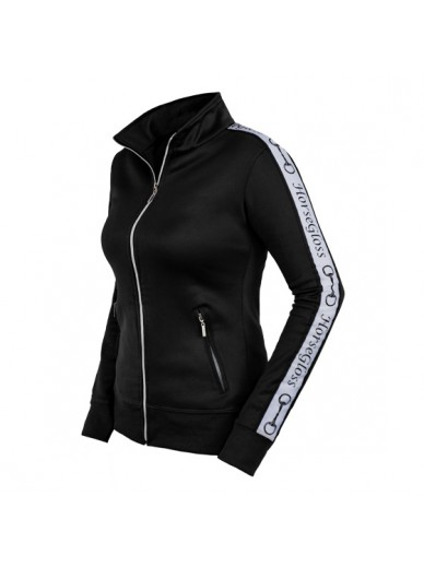 Horsegloss - Veste zippée tracking black