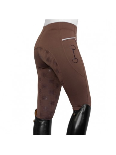 Horsegloss - legging technique chocolat