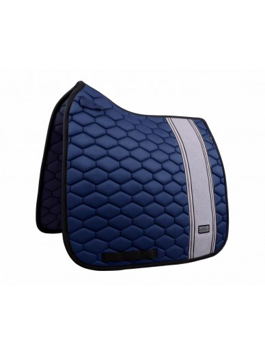 FairPlay - tapis Hexagon stripes navy/grey