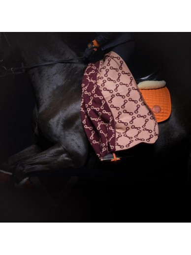 Ave equestrian - couverture plaid