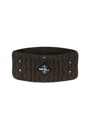 FairPlay - headband bling olive