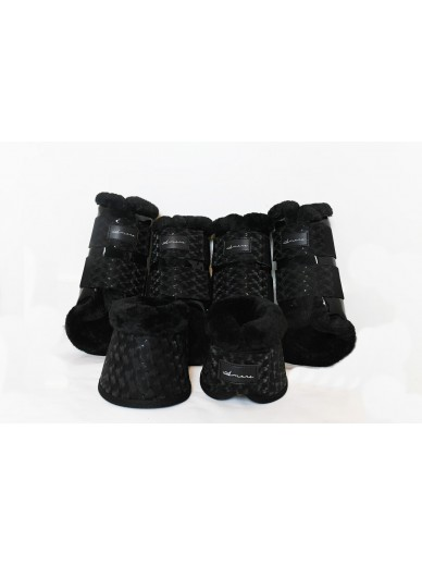 Amare - set boots carbon black