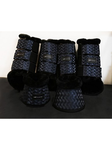 Amare - set boots carbon navy