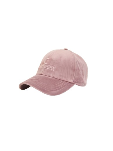 Kentucky - casquette velvet old rose
