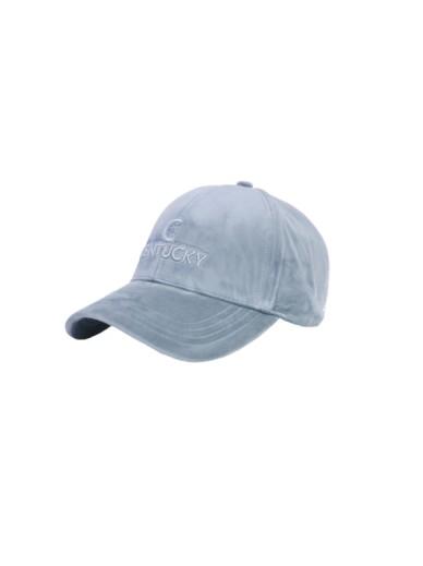 Kentucky - casquette velvet bleu clair
