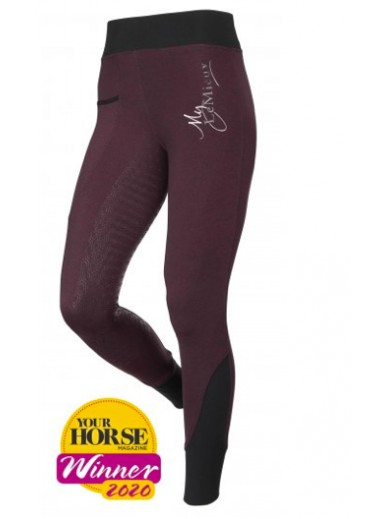 LeMieux -leggings activewear bordeaux