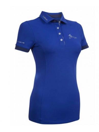 Lemieux - Polo Mylemieux benetton blue