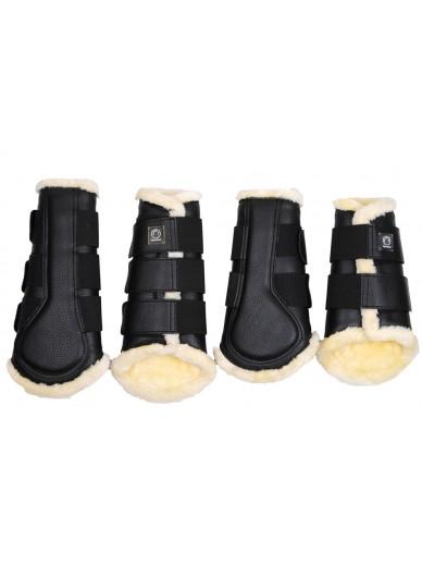 Montar- set guêtres noir